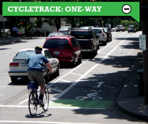 Cycletrack_OneWay